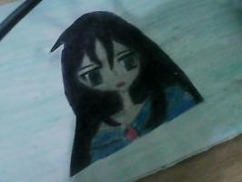 اول رسم لي عن الانمي