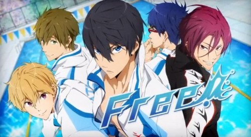 free swimming club anime